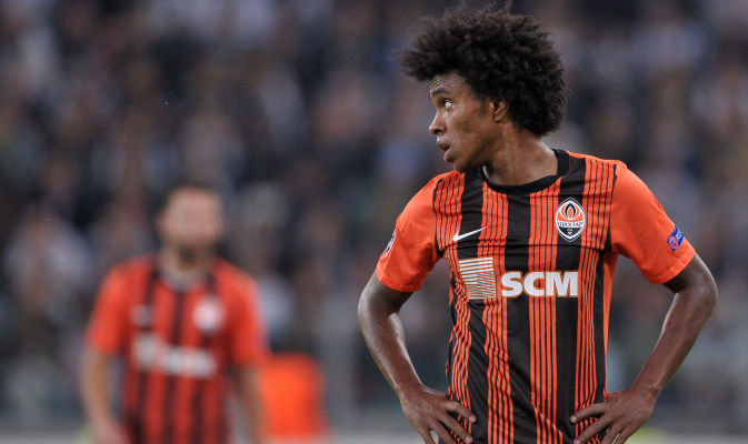 Willian: I am happy to be in Donetsk: 10.11.12